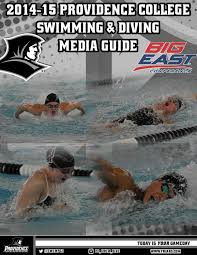 2014 15 providence college men u0027s and women u0027s swimming and diving