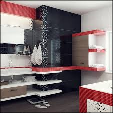 Red And Black Bathroom Decorating Ideas Red Black Bathroom Photos Information About Home Interior And