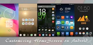 android customization android home screen design the home screen seemed a logical place