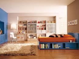 kids room amazing boys room paint ideas with orange bed on