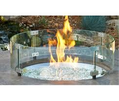 Glass Fire Pit Table Vin De Flame The Grand Wine Barrel Fire Pit Table 42
