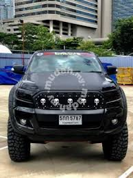 front grill ford ranger ford ranger t6 t7 fl wildtrak front grille skull car accessories