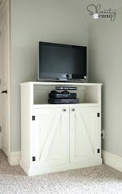2 Door Tv Cabinet Barn Door Media Cabinet Media Cabinet With Glass Doors In Aged
