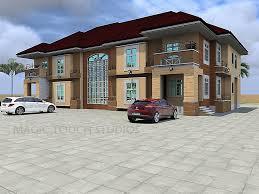 pleasant design 9 twin duplex house plans in nigeria architectural