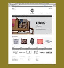 web shop design e commerce shop design for high end fabric designer and