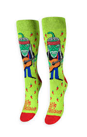 Flag Of Chili Chile Nelson Socks