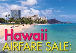 peak travel pleasant holidays hawaiian air sale