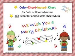 we wish you a merry for bells and or boomwhackers