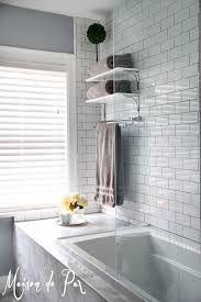 bathroom tile beveled subway tile backsplash marble subway tile