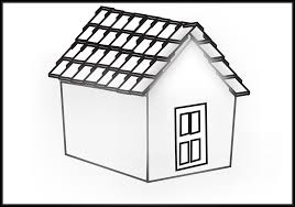 house with garage clipart black and white collection
