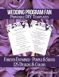 wedding program fan wording 55 best wedding program fans diy printable templates images on