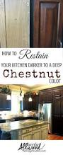 Can You Stain Kitchen Cabinets Darker by 25 Beste Ideeën Over Bevlekte Kasten Op Pinterest Vlekken