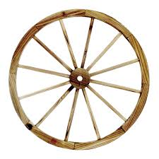 31 5 in wood wagon wheel patio décor at home at home