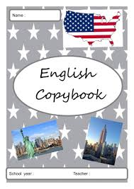 page de garde  rentrée  Pages de garde English copybook