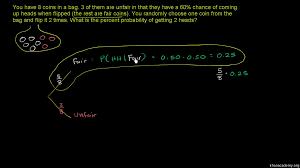independent u0026 dependent probability video khan academy