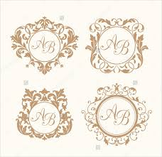 wedding backdrop design template wedding logo template 90 free psd eps ai illustrator format