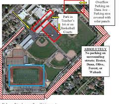 san jose school map parking map central santa clara valley youth soccer
