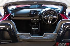mazda roadster interior 2017 mazda mx 5 roadster 2 0 litre review forcegt com