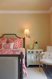 Green And Beige Rug Coral And Green Bedding Bedroom Eclectic With Feminine Floral