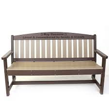 Engraved Garden Benches Benches The Amish Craftsmen Guild Ii