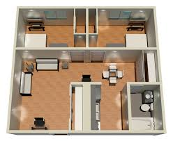 Floor Plan Of Two Bedroom House by Floorplans Riverwatch Tower