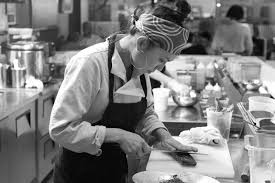 restaurant kitchen knives family recipe restaurant chef owner akiko thurnauer is