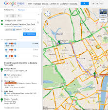 Googple Maps Official Google Blog Catch The London Underground With Google Maps