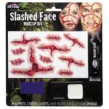 halloween prosthetic makeup kits make up and face paint u2013 cwmbran fancydress