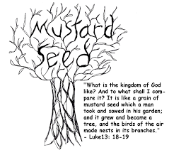 mustard seed parable clipart 72