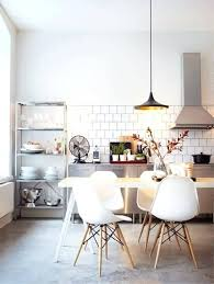 the most incredible white wood kitchen chairs and light with 170