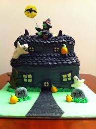 Halloween House Ideas Decorating Haunted House Cake Ideas