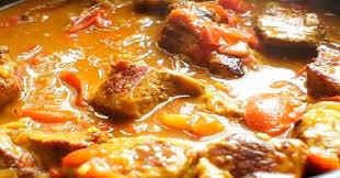 recette de cuisine martiniquaise curry de veau à la martiniquaise