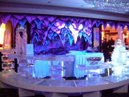 winter wonderland ice theme event decorations