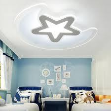 aliexpress com buy children u0027s room star ceiling lamp moon