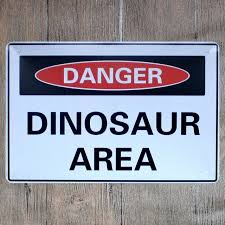 signs decor vintage home decor dinosaur area vintage metal tin signs retro