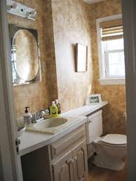 ideas for a small bathroom makeover small bathroom makeovers 23 lofty ideas after an artistic stencil