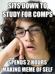 Slacker Meme - slacker graduate student memes quickmeme