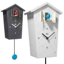 modern cuckoo clock kookoo birdhouse the design gift shop