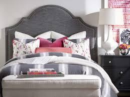 Barcelona Bedroom Furniture Barcelona Bonnett Upholstered Headboard By Bassett Furniture