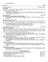 Usa Resume Template by American Resume Template American Resume Exles Templates