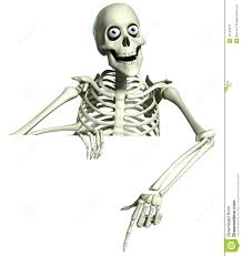 3d cartoon skeleton royalty free stock photo image 35143675