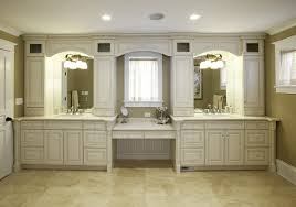 Double Sink Bathroom Vanity Ideas by Custom Double Sink Bathroom Vanity Dark Stained Double Sink