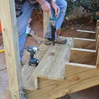 Deck Stairs Design Ideas Decks Com How To Build A Deck Stairs U0026 Steps