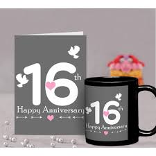 16th wedding anniversary gifts 16th marriage anniversary gift for parents