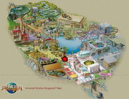 Universal Park Map Entree Kibbles Hollywood Churro Co Delightfully Delicious