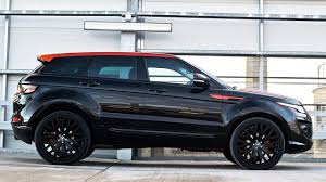 matte black range rover price full of style and charisma kahn range rover evoque rs250 vesuvius