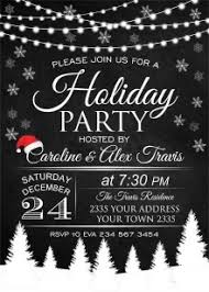 christmas party invitations and white christmas party invitations