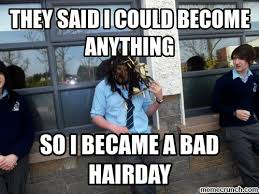 Bad Hair Day Meme - hair day