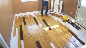 installing bamboo flooring video diy