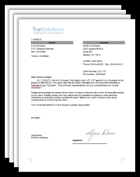 freight claim letter samples 4 freight claim letter downloads
